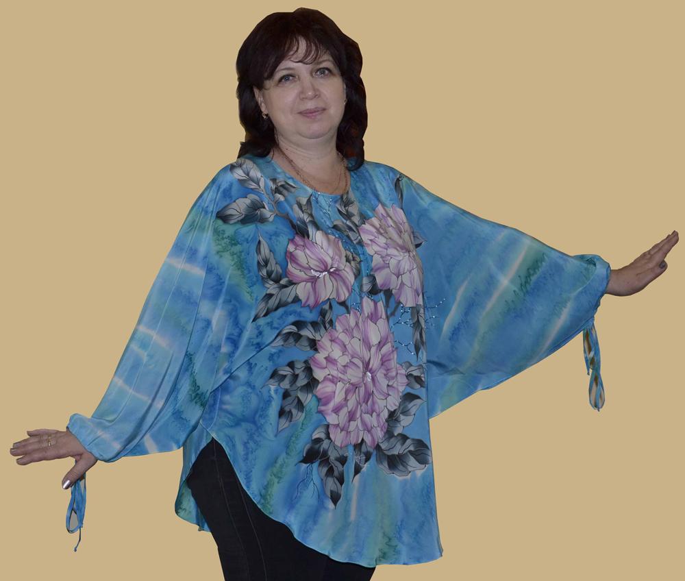 Блузка Из Платков Казань